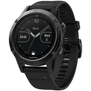 Garmin Fenix 5 Watch W/Sapphire Lens Black/Black 47MM