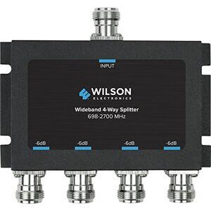 weBoost Wilson Electronics Divisor de 4 vías (6 dB, 50 ohmios)