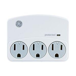 GE Sur Tap, 450J, 2 Puertos USB, Estante para Dispositivo, Protección contra sobretensiones, Accesorio, 3 Outlets