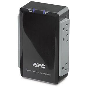 APC P4V limitador de tensión 4 Salidas AC 120 V Negro Regleta (1700 J, 4 Salidas AC, 120 V, 50/60 Hz, Negro, 360 g)