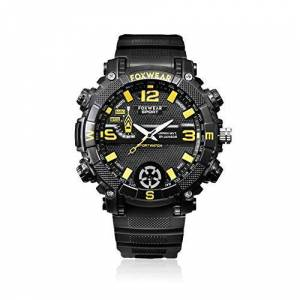 COODIO IPX7 Reloj Deportivo Impermeable con Mini cámara HD 720P con iluminación LED MLN-200109-ceYZ-EA500593F9
