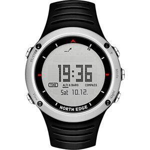 Garmin Men 's Military Reloj Digital LED Back Light Display Watches Impermeable brujula cronometro altimetro Casual Reloj Alarma multifuncion
