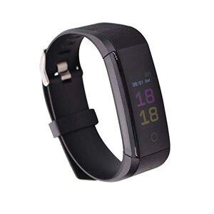 Md trade Fitness Tracker HR, S5 Activity Tracker Reloj con Monitor de frecuencia cardíaca, podómetro IP68 Impermeable Monitor de sueño Contador de Pasos para Mujeres Hombres(Negro)