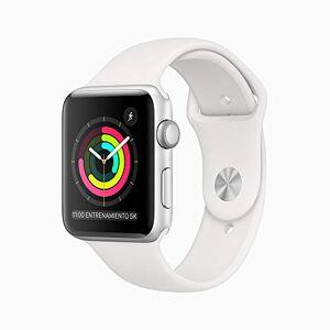 Apple Watch Series 3 (GPS) Caja de aluminio color plata 42 mm Correa deportiva blanca