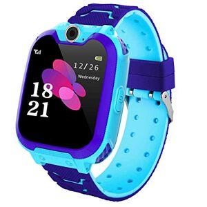 HAN-GANG Niños Smart Watch Phone, La Musica Smartwatch para niños de 3-12 años Niñas con cámara Ranura para Tarjeta SIM Juego de Pantalla táctil Smartwatch Childrens Gift