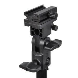 CowboyStudio Flashlight /Hot Shoe/Umbrella Holder with Swivel/Tilt Bracket for Nikon and Canon E430 E580 SB600 SB800 SB900