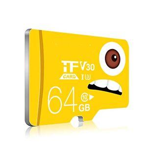 FairOnly TF (MicroSD) Tarjeta de Memoria C10 Edición Mejorada de Alta Velocidad Manejo del Registrador Monitores Tarjeta de Memoria del teléfono móvil 64GB
