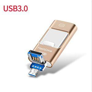 MeterMall Electronics OTG Memoria Flash USB para iPhone 5/5s/6/6S (USB de Alta Velocidad) SZQZWUS-0915AUE92F42DB86D