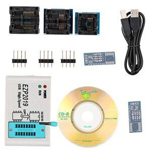 Taidda Programador de Alta Velocidad, Mini Programador USB EZP2019 S P I de Alta Velocidad identificado automáticamente con 3 Bases de Soporte probadas para Las Series 24/25/26/93