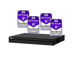 Dahua Dvr Grabador Xvr5432lx 32 Canales 4 MP Incluye 4 Discos 6tb C/u