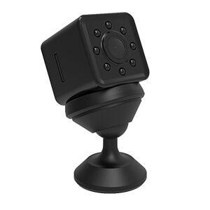 BINDEN Mini Cámara Espía SQ13 con 2K, 1080P y Carcasa Resistente al Agua, Visión Nocturna, Grabación en Bucle, Streaming Directo.