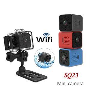 elegantstunning SQ23 HD WiFi Mini Camera 1080P Video Sensor Night Vision Camcorder Micro Cameras DVR Recorder Black