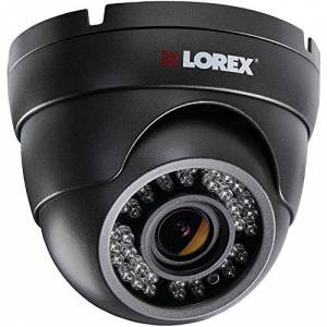 Lorex LEV2724B  by Flir Lev2724b 1080p Hd Weatherproof Varifocal Dome Camera (Black)