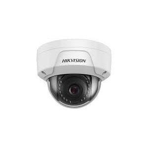 Hikvision Original US Version Hikvision ECI-D14F cámara Domo de Red IR de 4 MP para Exteriores, iluminación mínima: Color: 0,15 Lux @ (f/2.0, AGC on); B/W: 0,03 Lux @ (f/2.0, AGC on), 0 Lux con IR, Lente Fija de 2,8 mm
