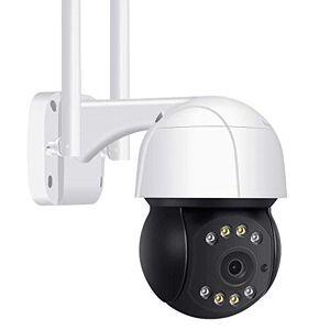 DDL 5MP WiFi PTZ cámara IP, al Aire Libre Humanos IA Seguimiento Auto sin Hilos del Monitor, Dos vías de Audio 2MP 3MP Inteligente Securi (Color : 3mp, Size : 32G)