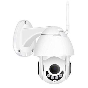 DDL 1080P inalámbrico de detección de Movimiento PTZ cámara IP, WiFi al Aire Libre Audio bidireccional de Seguridad CCTV Monitor, Blanco, 64G, AU (Color : 64g, Size : AU)