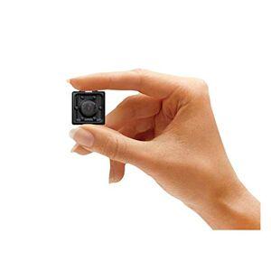 XIXN Cámara espía pequeña 1080P oculta cámara espía portátil con visión nocturna y detección de movimiento, perfecta para interior y para casa y oficina cámara espía oculta