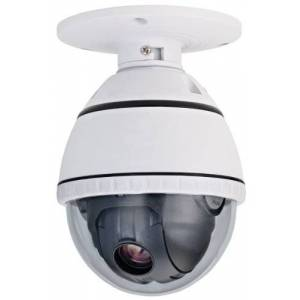 COP Security 15-CD51H Indoor Day/Night PTZ Camera with ICR and 10X Zoom (White)
