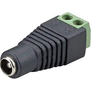 COP Security 15-TV125J- Adaptador de Corriente DC Hembra a Conector DC a Bloque de terminales (Negro)