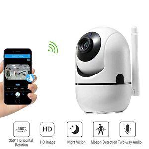 Melesplus 288ZD Cámara de seguridad inalámbrica para el hogar, monitor de bebé/mascotas/ancianos, WiFi 1080P HD, cámara de videovigilancia para interiores con detección de movimiento, visión nocturna