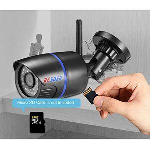 RONSHIN Cámara IP inalámbrica 1080P vigilancia impermeable CCTV cámara IP WiFi ONVIF ranura para tarjeta micro SD 2 millones de píxeles 6 mm SZXSQ-0910PEL_0AVJBMLA
