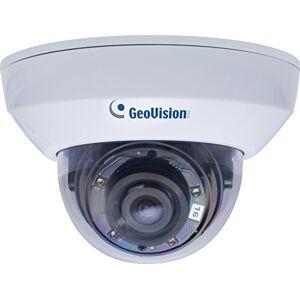 GeoVision 4MP H.265Super bajo Lux WDR Pro IR Mini Fixed Dome Cámara, Blanco (gv-mfd47000F)