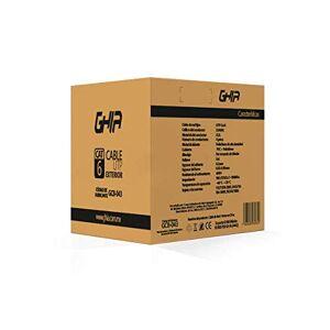 GHIA Bobina de Cable  Cat5e (UTP) Caja con 100mts Color Gris