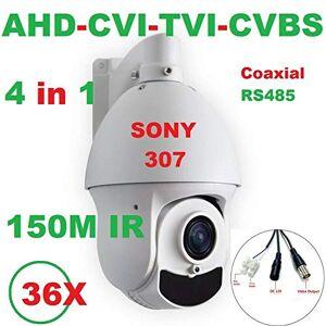 SECUPLUG+ SONY307 36X Zoom 1080P AHD PTZ Speed Dome Camera Support CVI/TVI/CVBS 150M IR