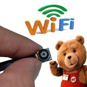 GoGo Electronics Mini Camara espia WI-FI FULLHD con WiFi P2P Video Tiempo Real de con Detector de Movimiento