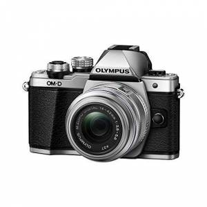 Olympus OM-D E-M10 Mark II Mirrorless Digital Camera with 14-42mm II R Lens (Silver)