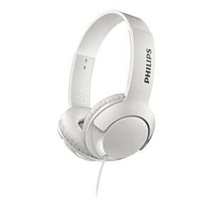 Philips SHL3070WT/27 Auricular Circumaural Diadema Blanco Auriculares (Circumaural, Diadema, Alámbrico, 9-23000 Hz, 1.2 m, Blanco)