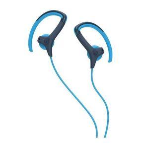 Skullcandy , Audifonos Deportivos Alámbricos, Chops Bud In Ear Sport, Mod. S4CHHZ, Azul