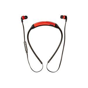 Skullcandy Smokin Buds Inalámbrico/a, Bluetooth, Diadema desmontable, Off-Axis Tech, Control Volumen y Canciones, Microfono, 6 horas de batería, color negro/rojo