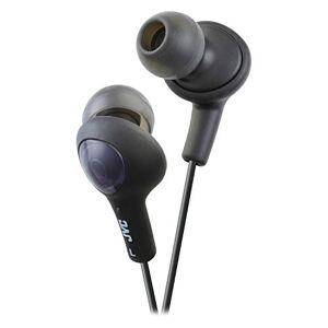 JVC HAFX5B Gumy Plus Inner Ear Audífonos -Black