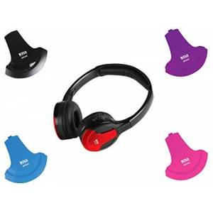 Boss Audio HP34C Dual Channel Infrared Foldable Cordless Headphone
