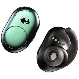 SKULLCANDY Push True Auriculares in-Ear inalámbricos, Color Verde Azulado