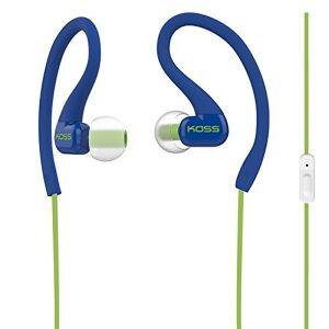 Koss GRY Auriculares deportivos con clip, Azul