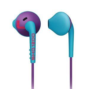 Philips ActionFit SHQ1200PP/28 Azul, Púrpura Intraaural Dentro de oído Auricular Auriculares (Intraaural, Dentro de oído, 30-20000 Hz, 10 MW, 110 Db, 32 Ohmio)