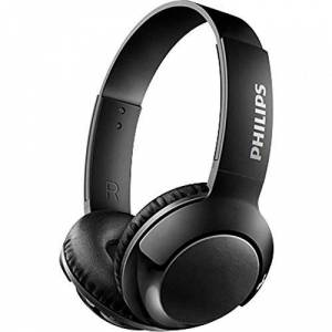 Philips SHB3075BK/00 Auricular para móvil Biauricular Diadema Negro Auriculares (Inalámbrico, Diadema, Biauricular, Circumaural, 9-21000 Hz, Negro)