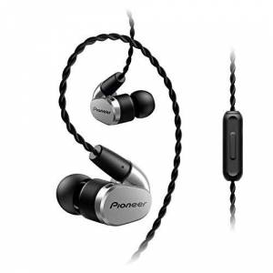 Pioneer SE-CH5T Dentro de oído Audífono Alámbrico Plata Audífono para móvil Audífonos (Audífono, Dentro de oído, Plata, Digital, In-line control, Alámbrico)