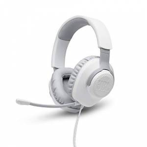 JBL Audífonos para Juego Over Ear Quantum 100 Blanco