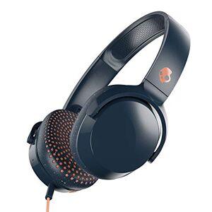 SKULLCANDY Riff On-Ear Headphones Microphone, Refined Acoustics, Foldable, Call Track Control, Plush Ear Cushions Durable Headband, Blue/Speckle/Sunset