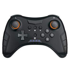JIN Wireless NS Pro Bluetooth Gamepad de vibración de precisión de posicionamiento para conmutador de consola de juegos compatible con teléfonos móviles Android, tablet, TV, tablet, tableta, etc.