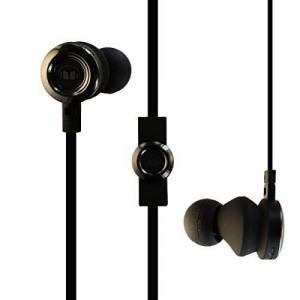 Monster Cable Clarity High Definition In-Ear Wired Headphones W/Control Talk Black