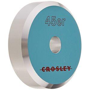 Crosley CR9100A-BK Adaptador de Aluminio 45 (Negro), Turquoise, Accesorio