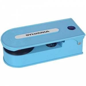Sylvania Tocadiscos con codificación USB, Azul, n/a