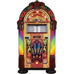 Rock-Ola Bubbler CD Gazelle Jukebox con Bluetooth