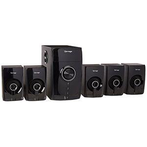 Vorago SPB-500 Bocinas 5.1 Canales Bluetooth para Computadora Negro