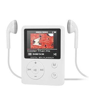 Mollikar ] Reproductor de MP3, Reproductor de música portátil MP3 MP4 Reproductor de 1.8 Pulgadas Pantalla a Color Radio FM Grabadora Vídeo Película