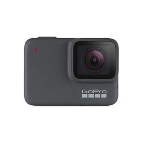 GoPro HERO7 Silver Cámara de acción digital sumergible con pantalla táctil, vídeo 4K HD y fotos de 10 MP